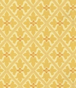 ...a direct draw from the inspiration of the wallpaper
